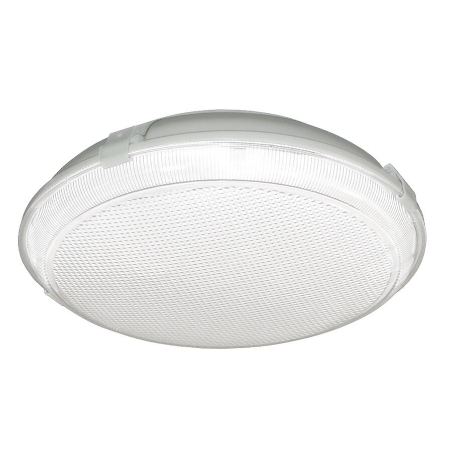 Utilitech Fluorescent Flush Mount (Common: 1.5-ft; Actual: 14-in)