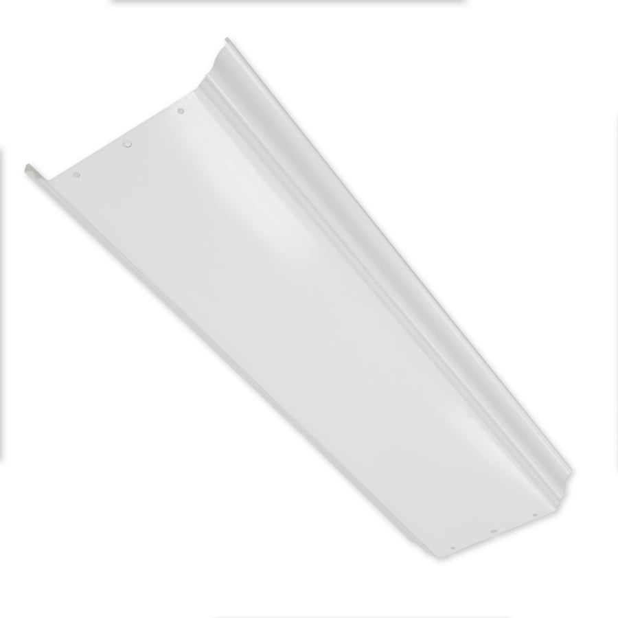 Fluorescent Light Fixture Covers Replacement: Good Earth Lighting White Replacement Lens At Lowes.com