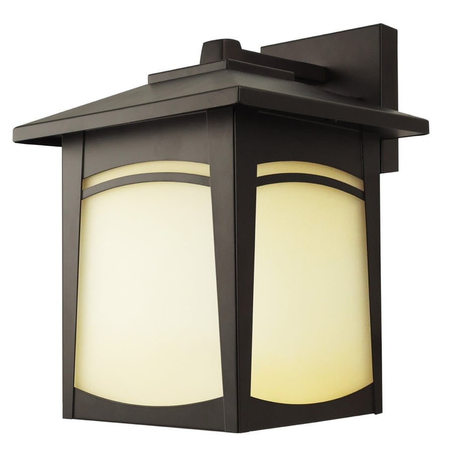 Outside Lights No Earth: Shop Good Earth Lighting 11.5-in H Dark Bronze Outdoor