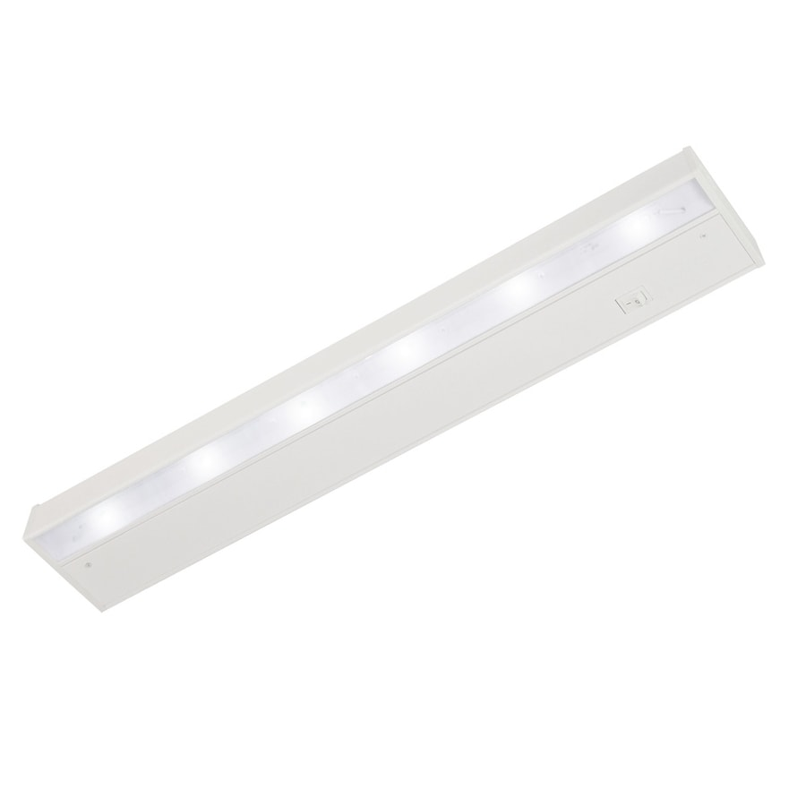 Good Earth Lighting Designer 22.12-in Hardwired/Plug-In Under Cabinet LED Light Bar