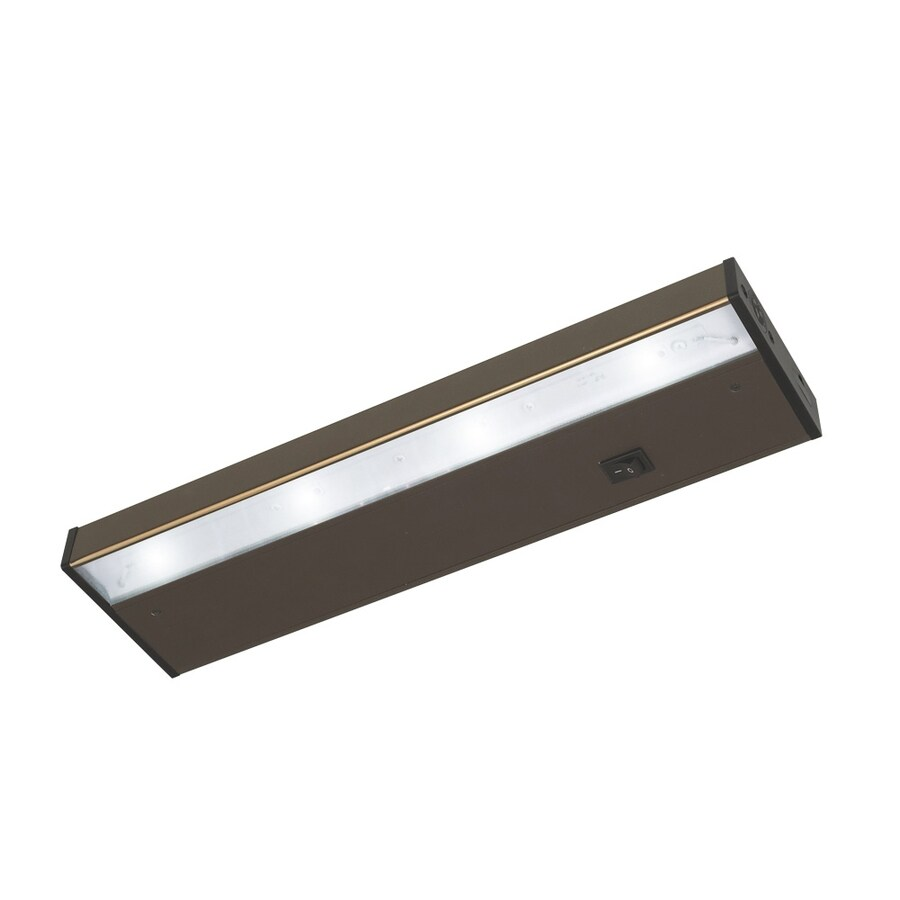 Good Earth Lighting Designer 14.12-in Hardwired/Plug-In Under Cabinet LED Light Bar
