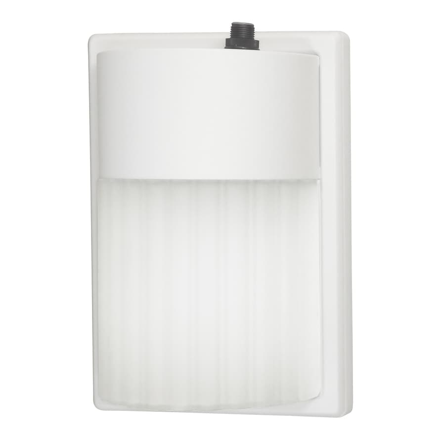 Utilitech 1-Head 27-Watt White Fluorescent Dusk-to-Dawn Flood Light