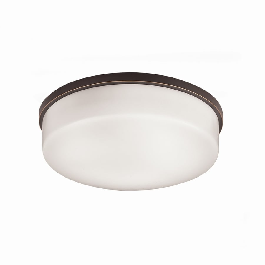 Portfolio Dionne2 White Acrylic Ceiling Fluorescent Light (Common: 1.5-ft; Actual: 13.12-in)