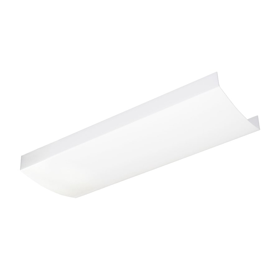 Shop fluorescent lighting parts accessories at lowes good earth lighting white replacement lens arubaitofo Image collections