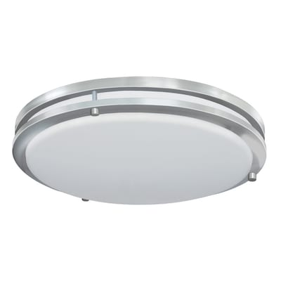 Jordan 17 In Brushed Nickel Led Flush Mount Light Energy Star