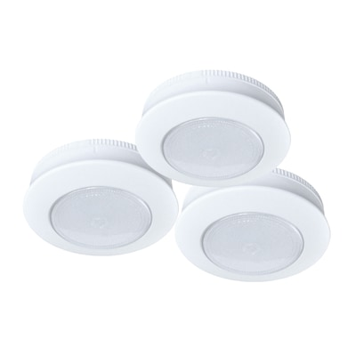 3 Pack In Battery Puck Light