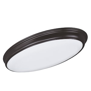 Good Earth Lighting Portal 31 In Bronze Transitional Led Flush Mount Light Energy Star At Lowes