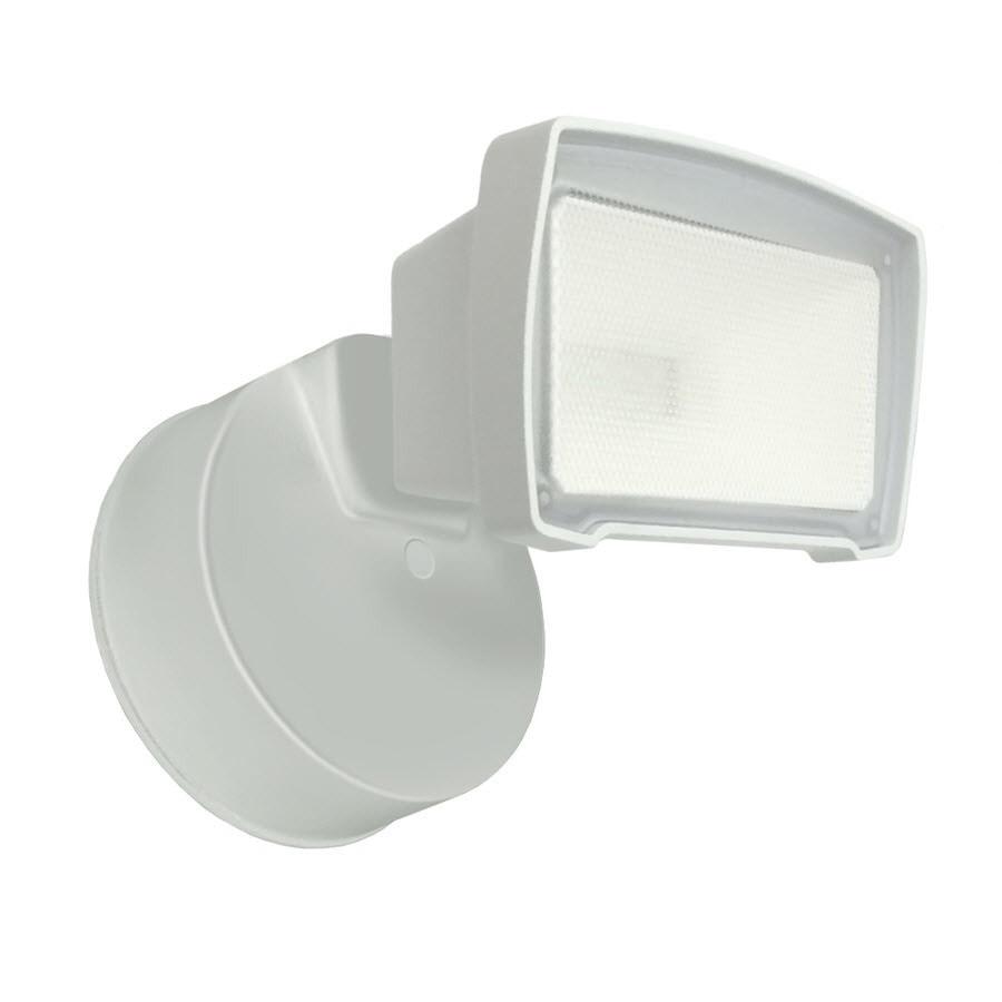 Good Earth Lighting 1-Head White LED Dusk-to-Dawn Flood Light  sc 1 st  Loweu0027s & Shop Good Earth Lighting 1-Head White LED Dusk-to-Dawn Flood Light ...