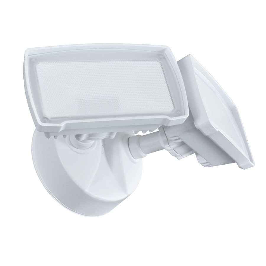 Good Earth Lighting 6.25-in 2-Head Integrated LED White Switch-Controlled Flood Light