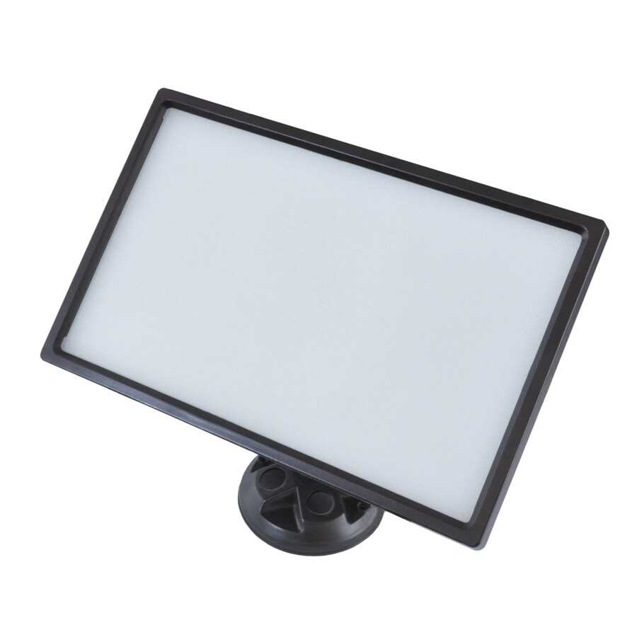 Good Earth Lighting 4-in 1-Head Integrated LED Satin Aged Bronze Switch-Controlled Flood Light