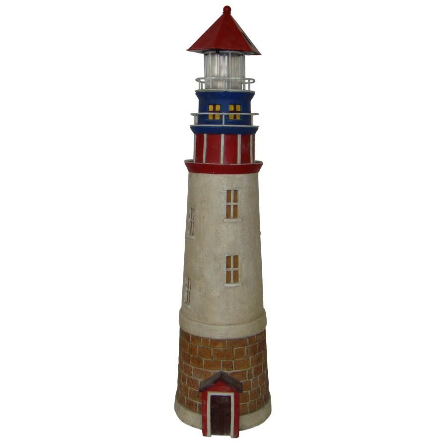 Solar Lighthouse Statuary