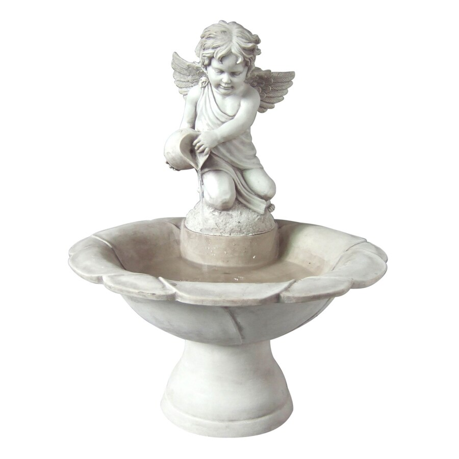 Garden Treasures Classic 1-Tier Fountain