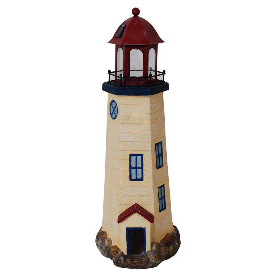 20 78h solar lighthouse garden statue - Garden Lighthouse