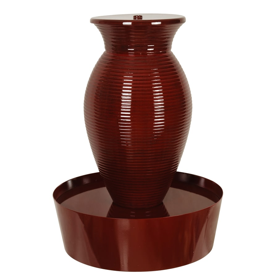 Shop Vase Indoor/Outdoor Fountain with Pump at Lowes.com