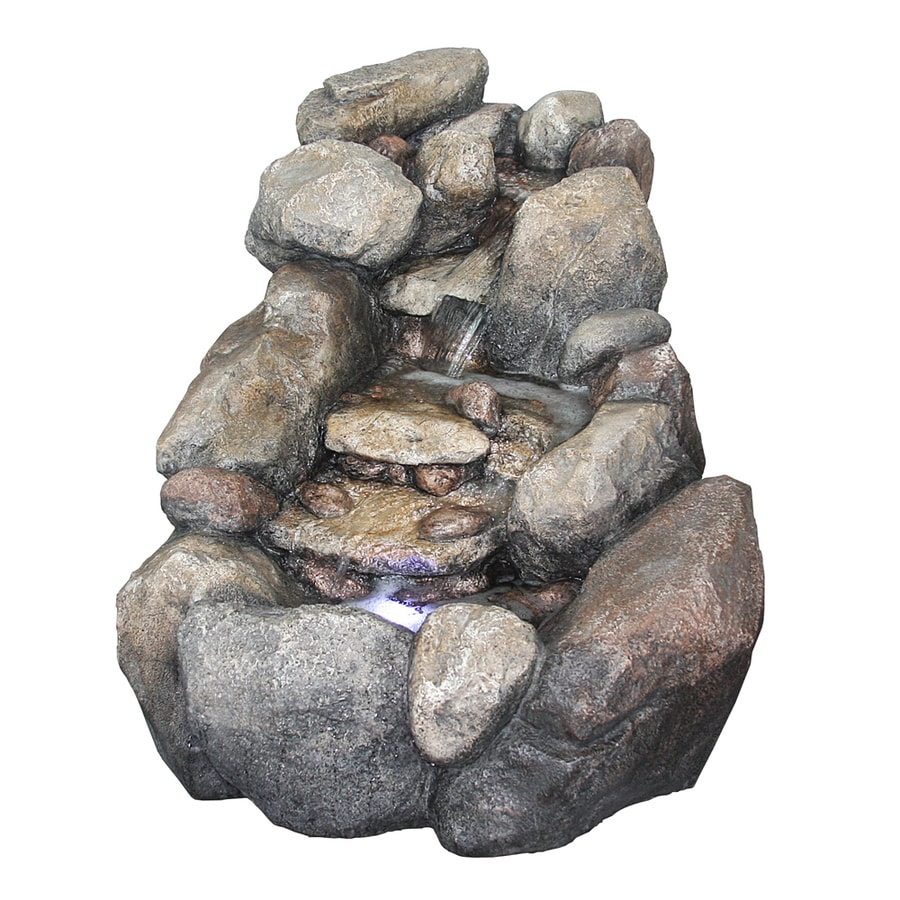 Garden Treasures River Rock Fountain