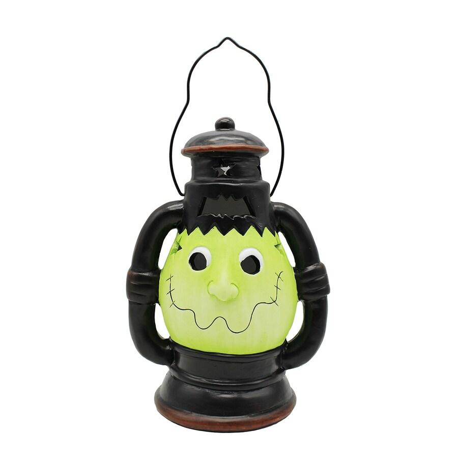 Holiday Living Pre-Lit Frankenstein Lantern with Twinkling Color Changing LED Lights