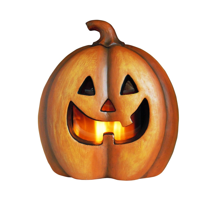 Holiday Living Pre-Lit Freestanding Jack-O-Lantern Greeter with Orange LED Lights