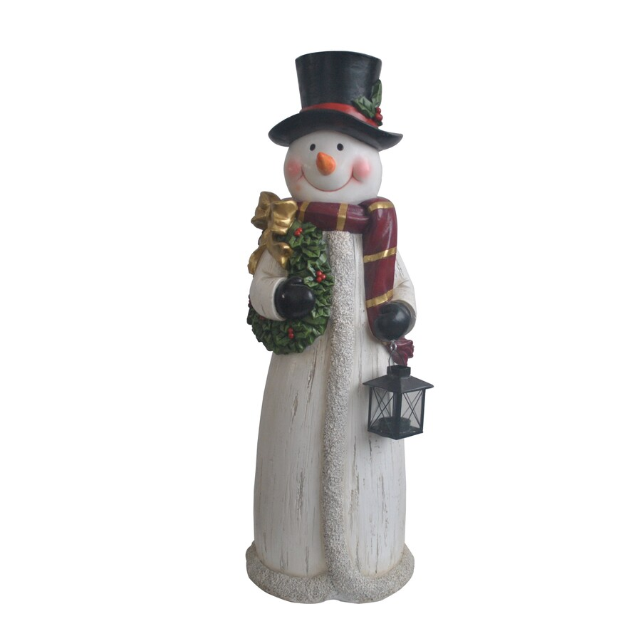 Shop Holiday Living Snowman Outdoor Christmas Decoration
