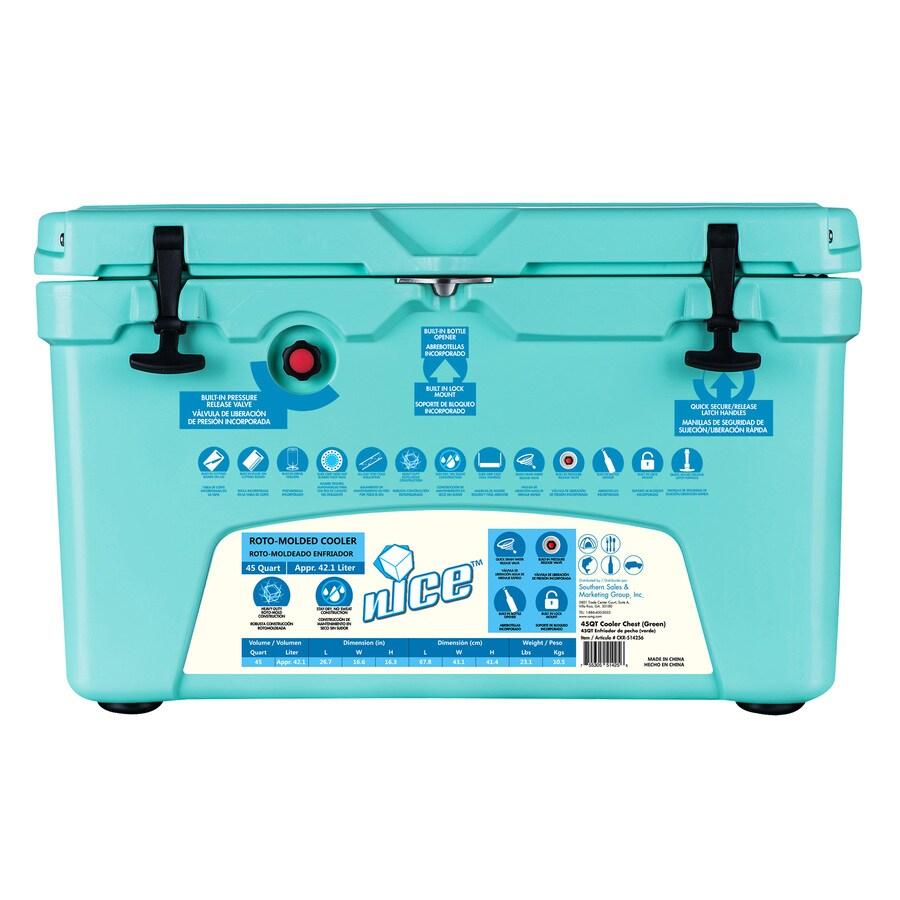 45-Quart Plastic Marine Cooler