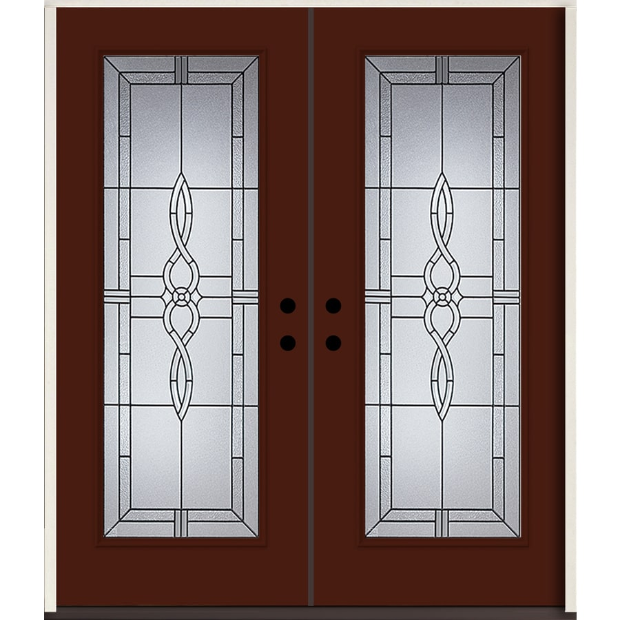 Used Mobile Home Doors Exterior: ReliaBilt Calista Full Lite Decorative Glass Right-Hand