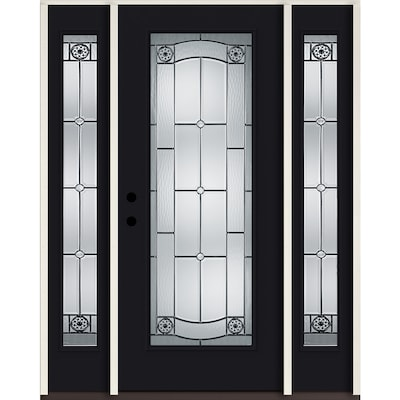 Fiberglass Full Lite Front Doors At Lowes Com Thinking of installing fiberglass exterior doors in your entryway? fiberglass full lite front doors at