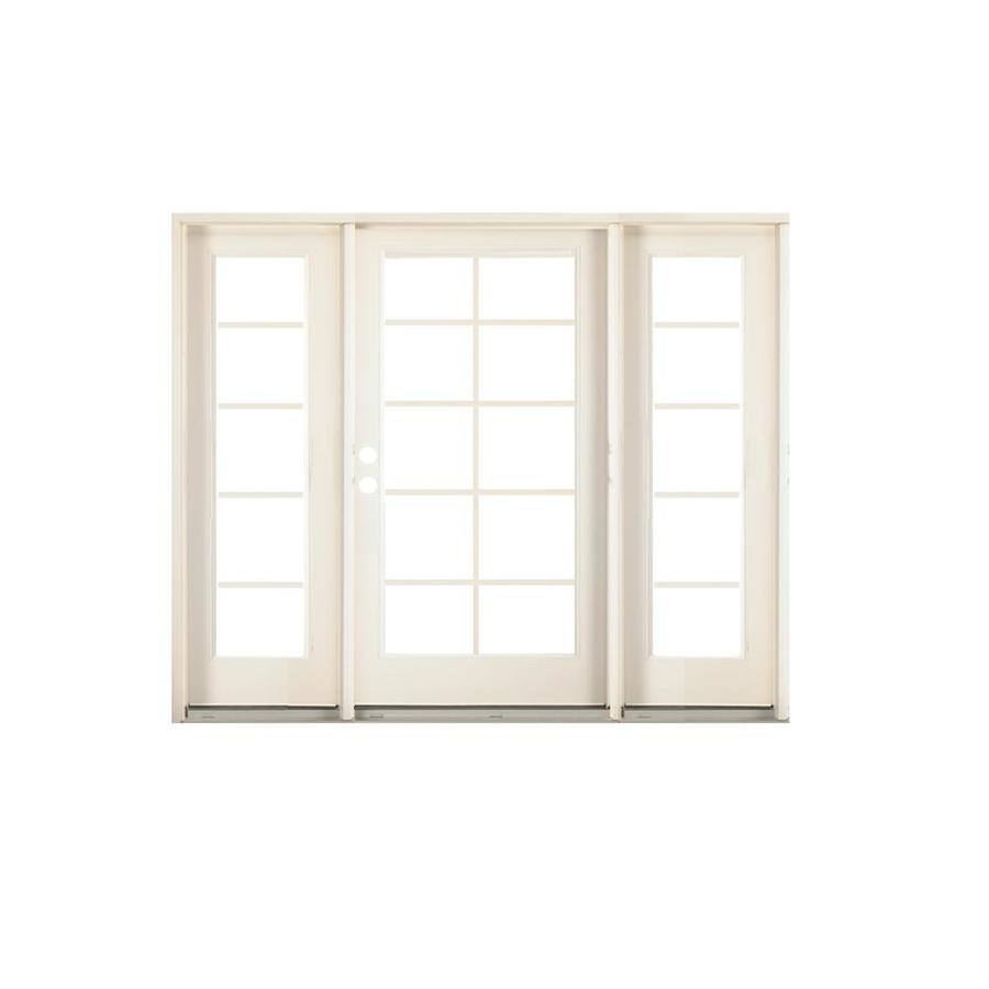 center hinged patio doors. Center-Hinged Patio Door With Screen. Product Image 1. ReliaBilt 73.875-in X 81.75-in Steel Right-Hand Inswing Grilles Between The Center Hinged Doors