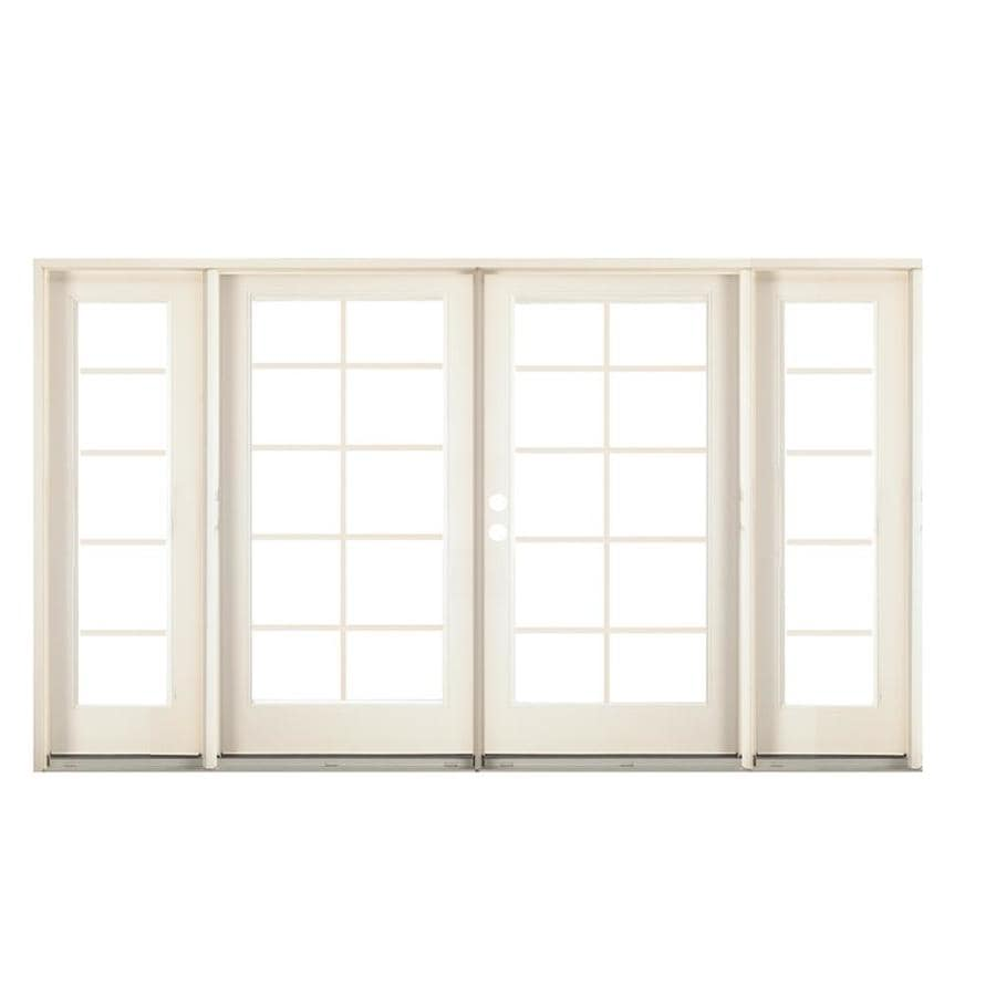 Shop reliabilt x steel right hand for Glass french doors exterior
