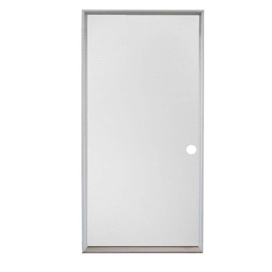 Shop Reliabilt Right Hand Inswing Primed Steel Prehung Entry Door
