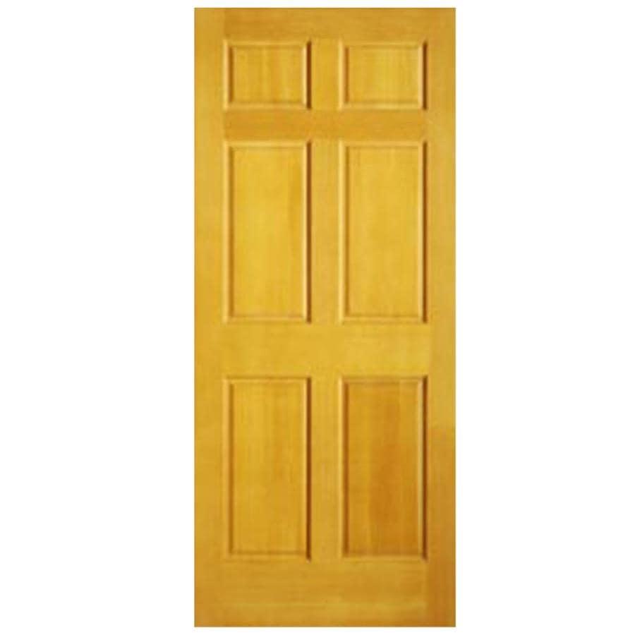 ReliaBilt 6-Panel Pine Slab Interior Door (Common: 24-in x 80-in; Actual: 24-in x 80-in)