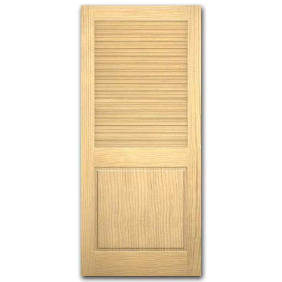 shop reliabilt louver panel pine slab interior door. Black Bedroom Furniture Sets. Home Design Ideas