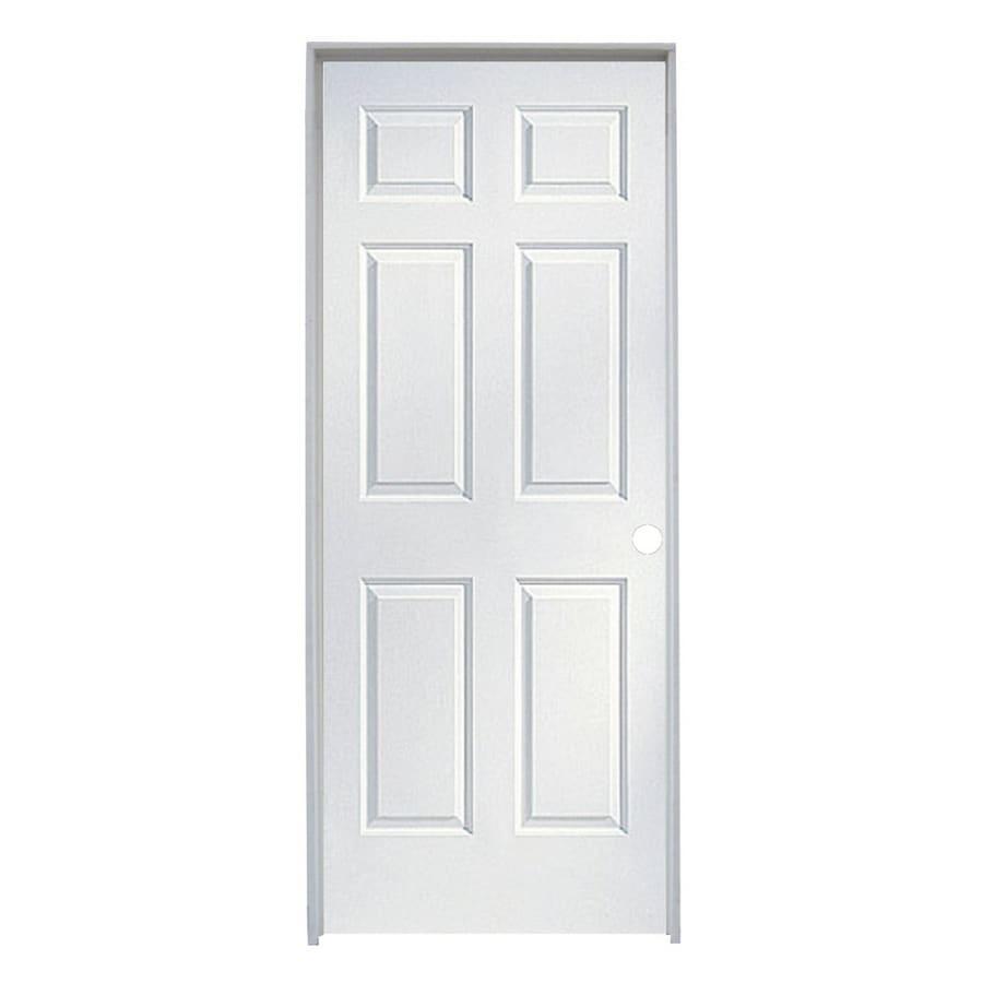 reliabilt 24 x 96 molded hollow composite left hand interior single prehung door at