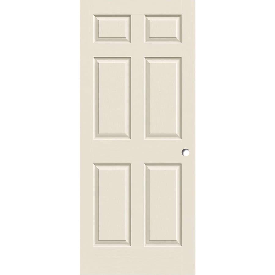 ReliaBilt Hollow Core Molded Composite Slab Interior Door (Common: 36-in x 80-in; Actual: 36-in x 80-in)