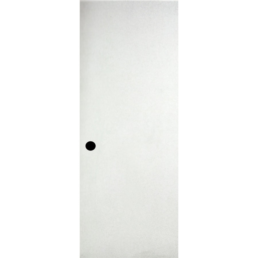 Shop reliabilt hollow core hardboard slab interior door for Flush solid core wood interior doors