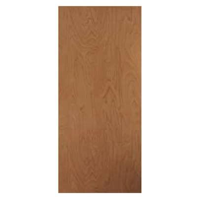 premium selection f9d65 ee0d8 Brown/Unfinished Solid Core Wood Slab Door (Common: 36-in x 80-in; Actual:  36-in x 80-in)
