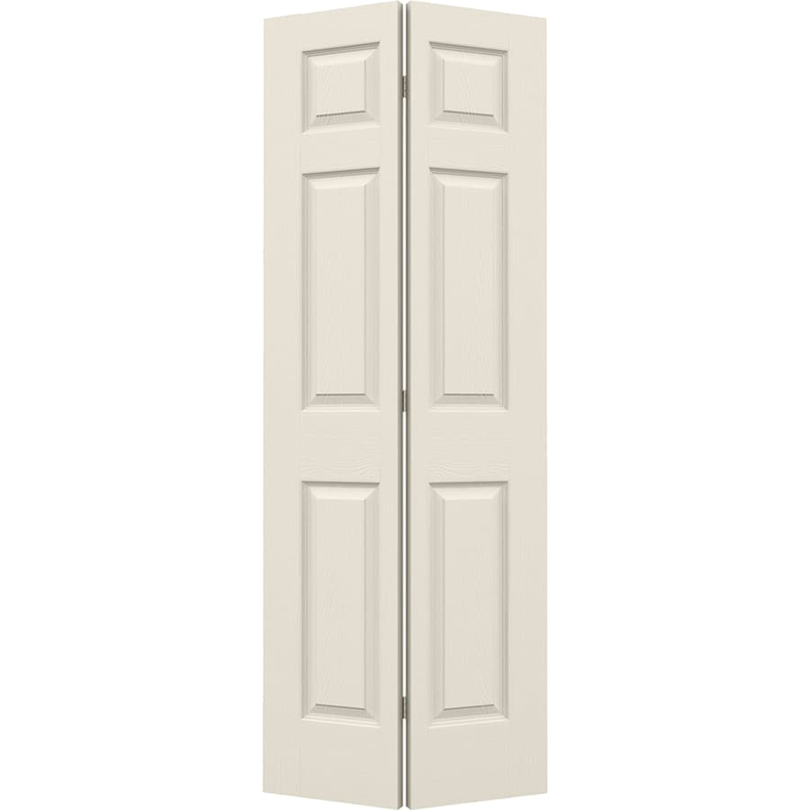 ReliaBilt Hollow Core 6-Panel Bi-Fold Closet Interior Door (Common: 24-in x 80-in; Actual: 23.5-in x 79-in)