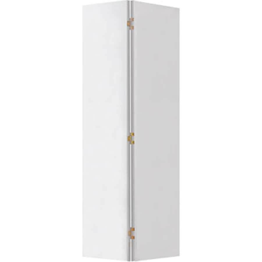 Shop Reliabilt White Flush Hardboard Bifold Door Common 30 In X 80