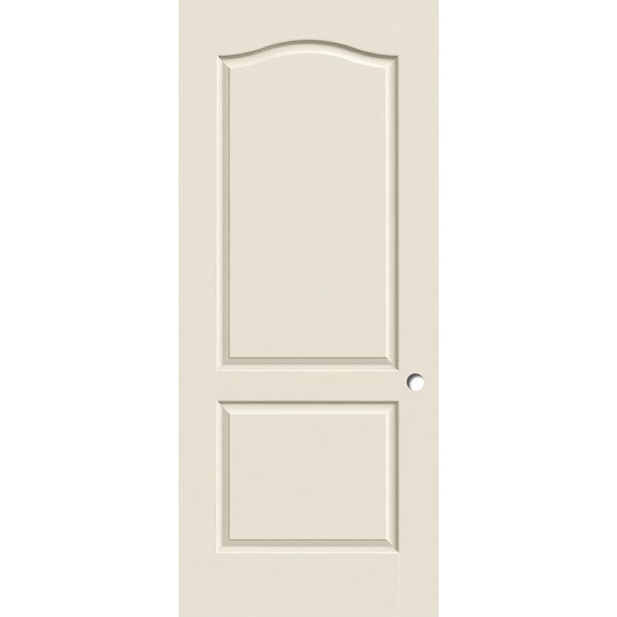 ReliaBilt Hollow Core 2-Panel Arch Top Slab Interior Door (Common: 30-in x 80-in; Actual: 30-in x 80-in)