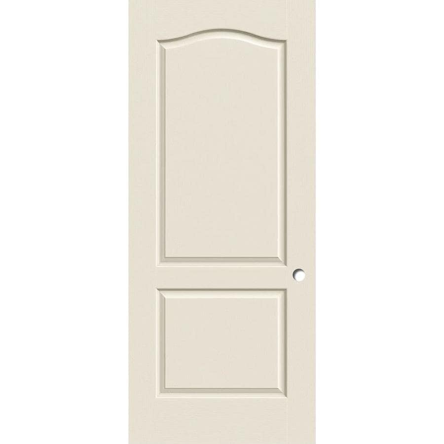 ReliaBilt Hollow Core Molded Composite Slab Interior Door (Common: 36-in x 80-in; Actual: 36-in x 80-in)