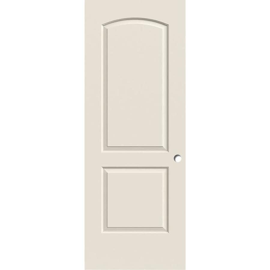 ReliaBilt Hollow Core 2-Panel Round Top Slab Interior Door (Common: 28-in x 80-in; Actual: 28-in x 80-in)
