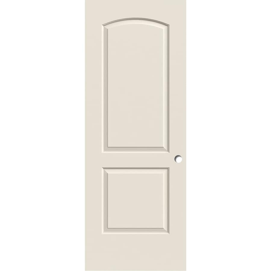 ReliaBilt Hollow Core 2-Panel Round Top Slab Interior Door (Common: 32-in x 80-in; Actual: 32-in x 80-in)