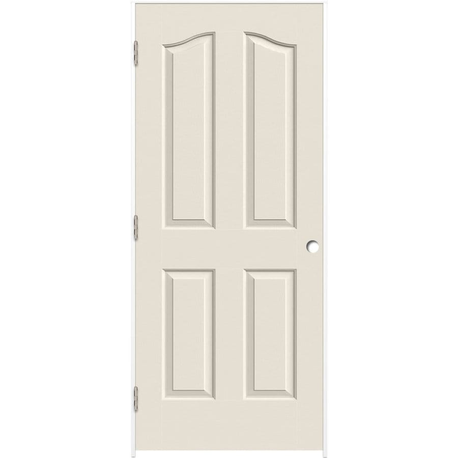 Shop reliabilt primed 4 panel arch top hollow core molded composite reliabilt primed 4 panel arch top hollow core molded composite single pre hung door planetlyrics Image collections