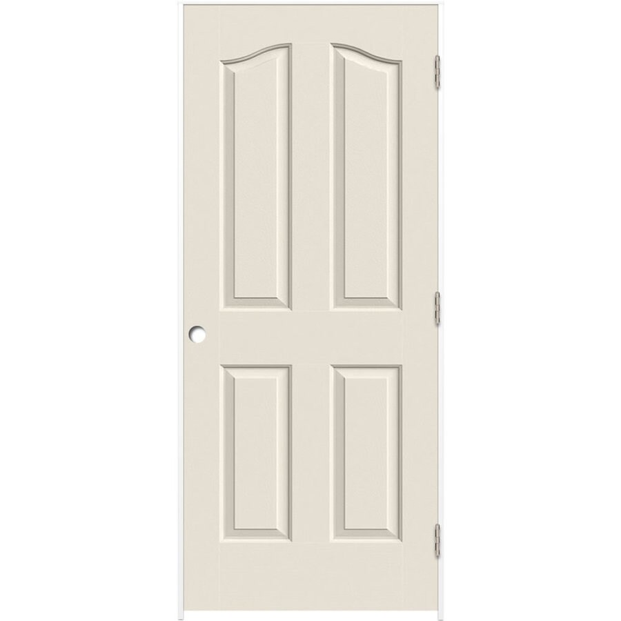 Shop Reliabilt Primed Hollow Core Molded Composite Prehung Interior Door Common 36 In X 80 In