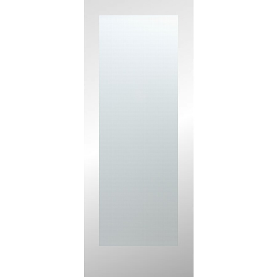 ReliaBilt Full Lite Laminated Glass Pine Slab Interior Door (Common: 24-in x 80-in; Actual: 24-in x 80-in)