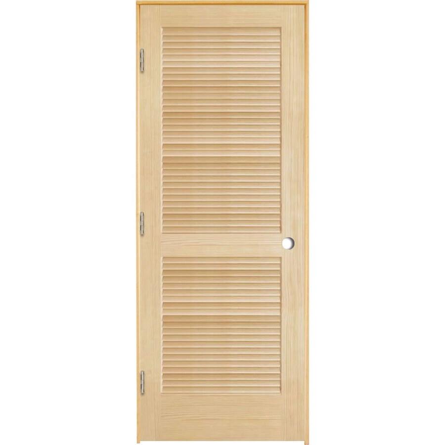 ReliaBilt Pine Prehung Interior Door (Common: 28-in x 80-in; Actual: 29.5-in x 81.25-in)