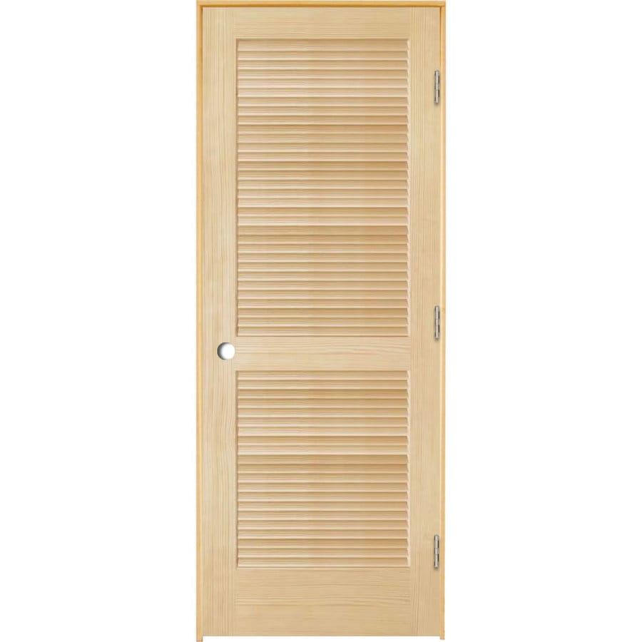 ReliaBilt Pine Prehung Interior Door (Common: 30-in x 80-in; Actual: 31.5-in x 81.25-in)