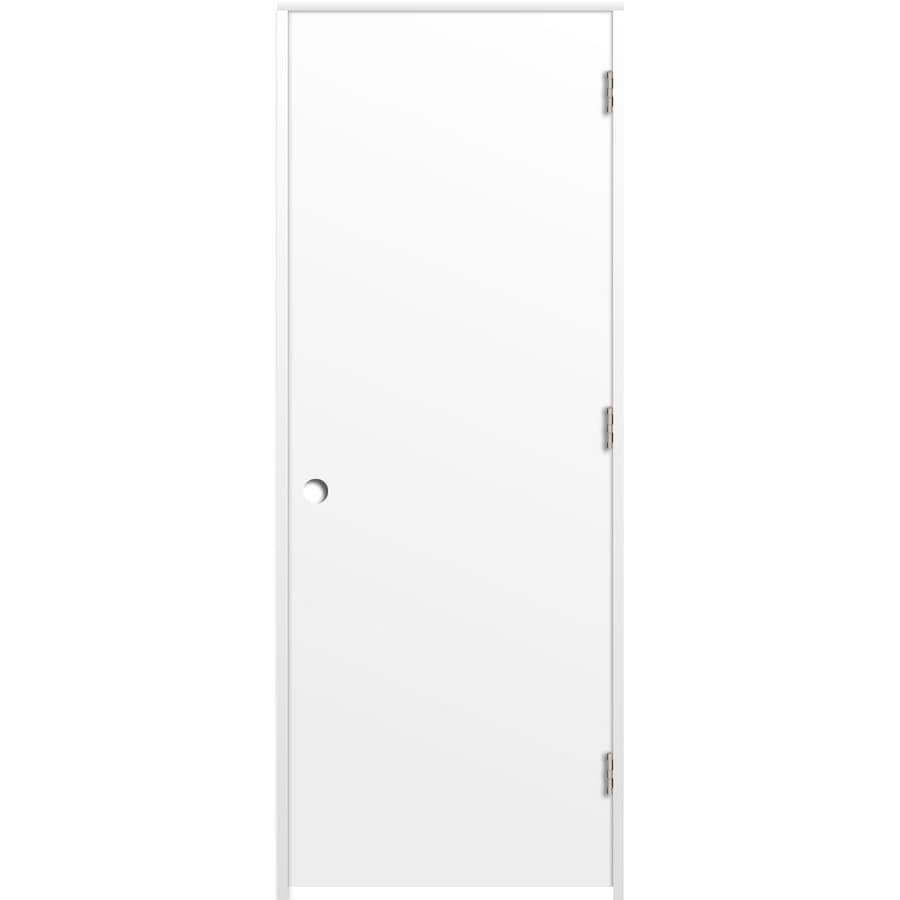 ReliaBilt Flush Single Prehung Interior Door (Common: 28-in X 80-in; Actual: 29.5-in x 81.5-in)