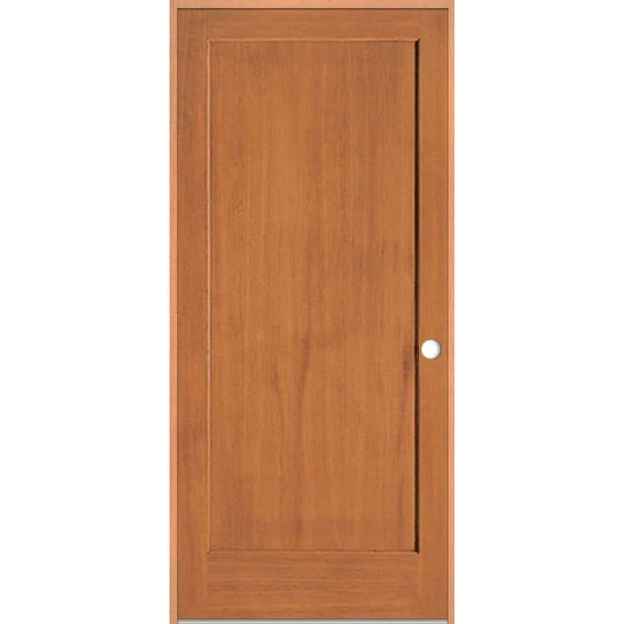 ReliaBilt Prehung 1-Panel Fir Interior Door (Common: 28-in x 80-in; Actual: 29.5-in x 81.5-in)