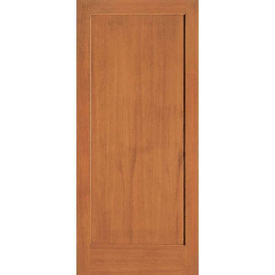 ReliaBilt (Unfinished) 1-Panel Fir Slab Interior Door (Common: 24-in x 80-in; Actual: 24-in x 80-in)