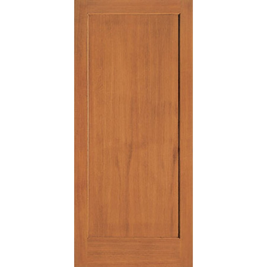 ReliaBilt (Unfinished) 1-Panel Fir Slab Interior Door (Common: 28-in x 80-in; Actual: 28-in x 80-in)