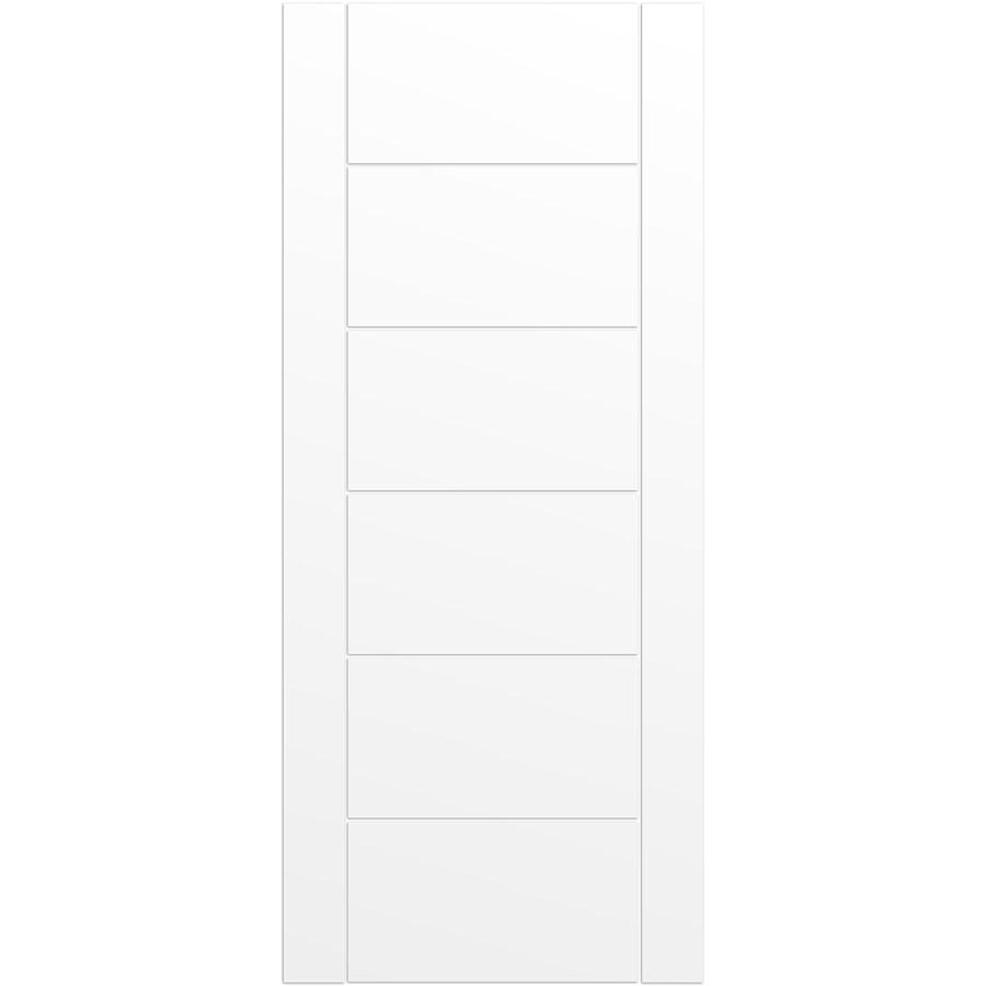 ReliaBilt Solid Core MDF Slab Interior Door (Common: 36-in x 84-in; Actual: 36-in x 84-in)